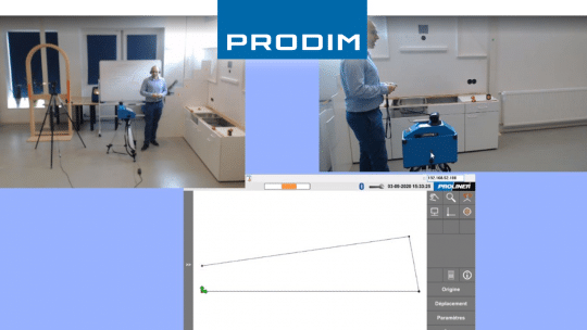 Prodim Proliner user Caraibestone Wed demo
