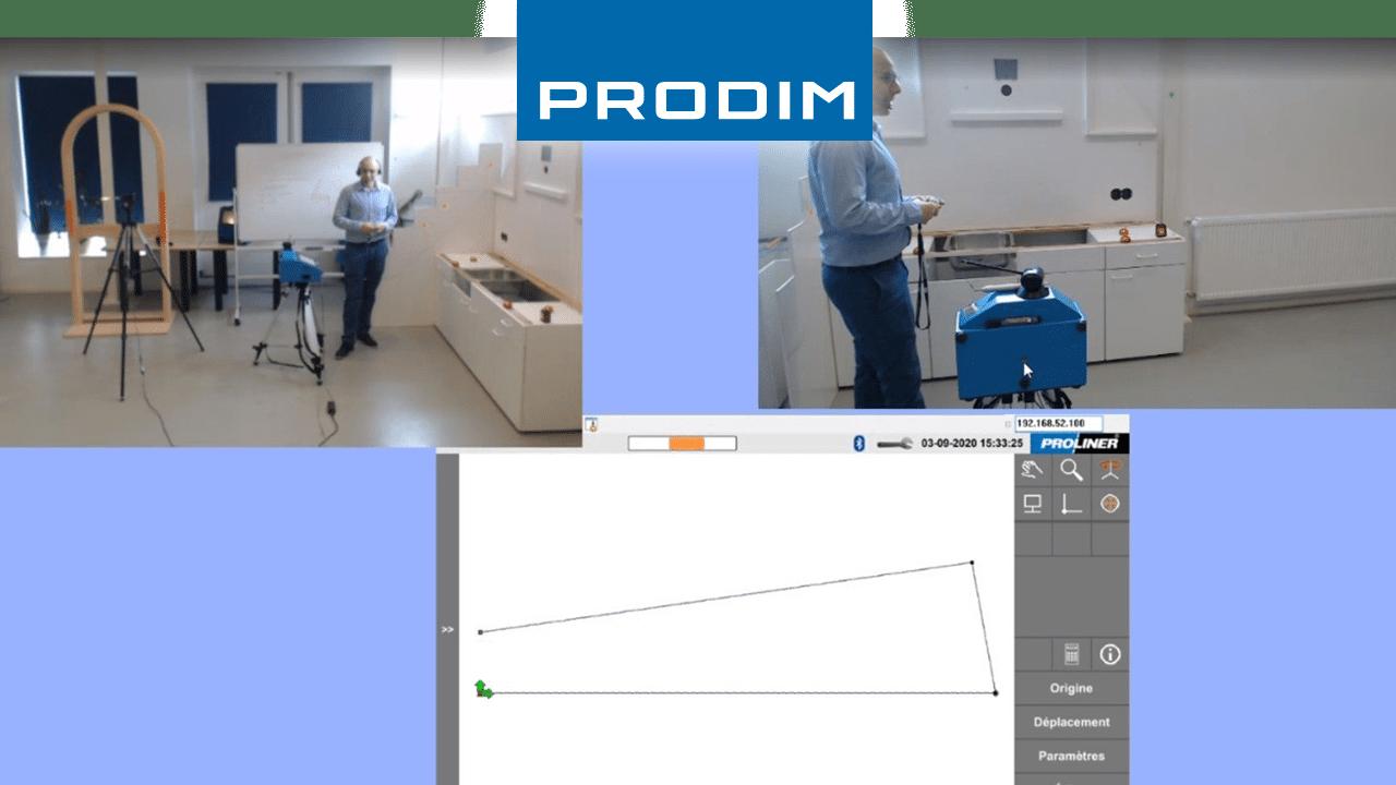 Prodim Proliner user Caraibestone Wed demo