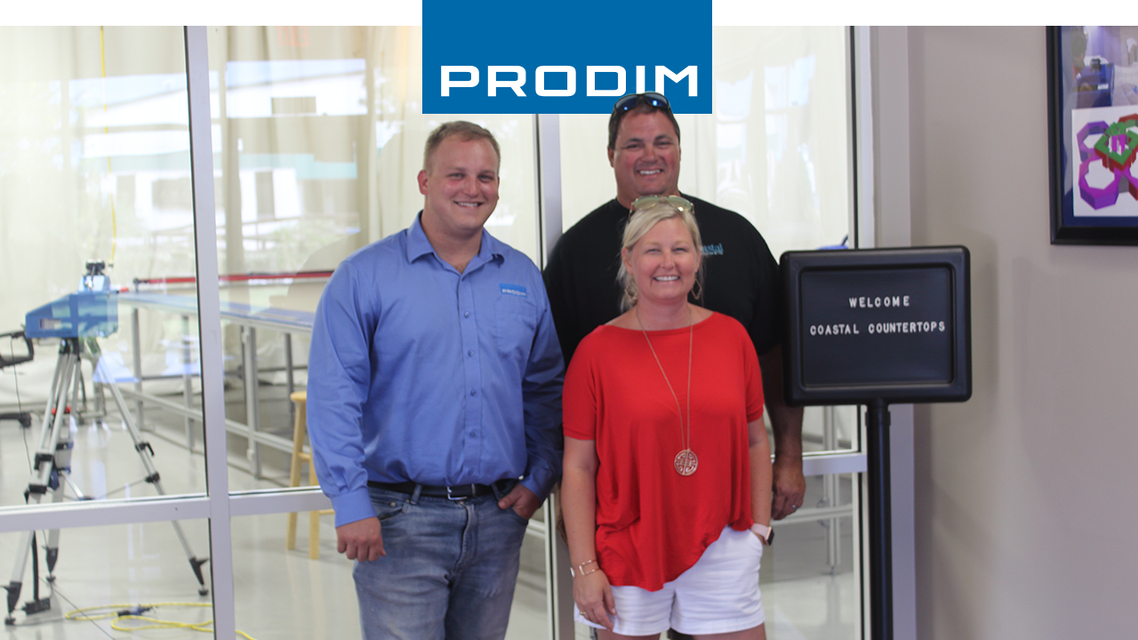 Prodim Proliner user Coastal Countertops and Tile