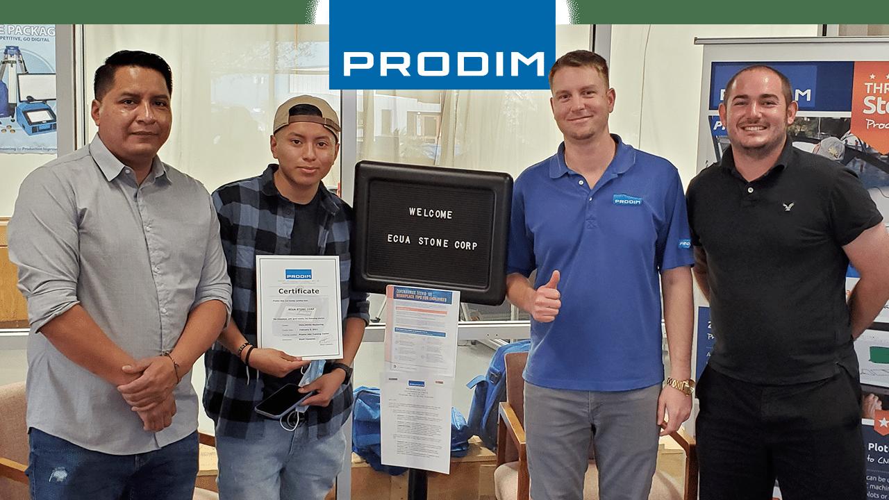 Prodim-Proliner-user-Ecua-Stone - Corp