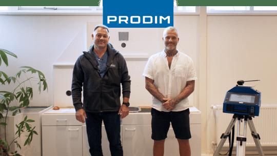 Prodim Proliner user Falke Granit & Natursten