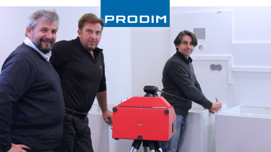 Prodim Proliner user Fasumi