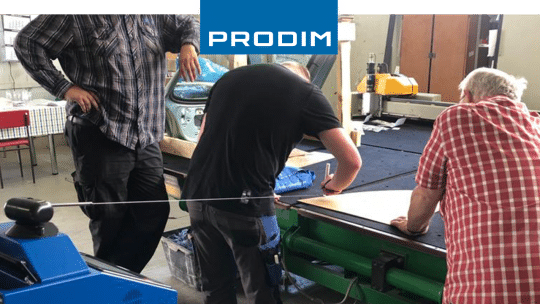 Prodim Proliner user Glasbiegerei Pfaltz