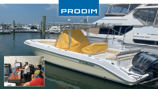 Prodim Proliner user Hyducks Marine Canvas Upholstery