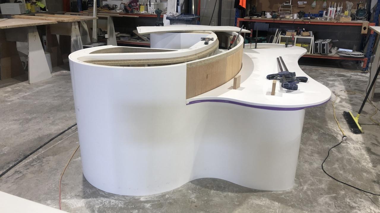 Prodim Proliner user Ideal Stone countertop project 01