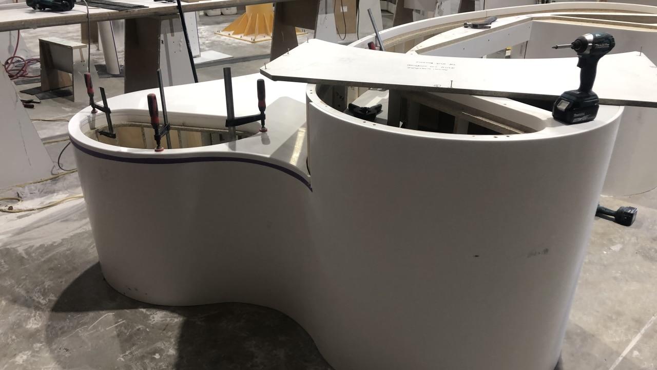 Prodim Proliner user Ideal Stone countertop project 02