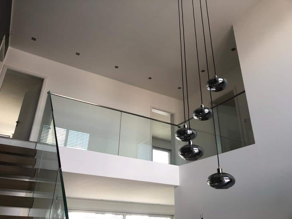 Prodim Proliner user J.K. Glass - Balustrade project - End result