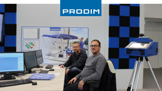 Prodim Proliner user Köster Sails