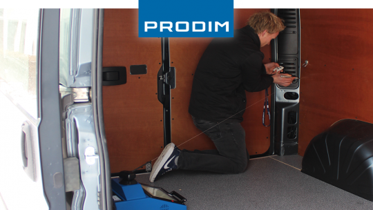 Prodim Proliner user Kemperink Bedrijfswageninrichting