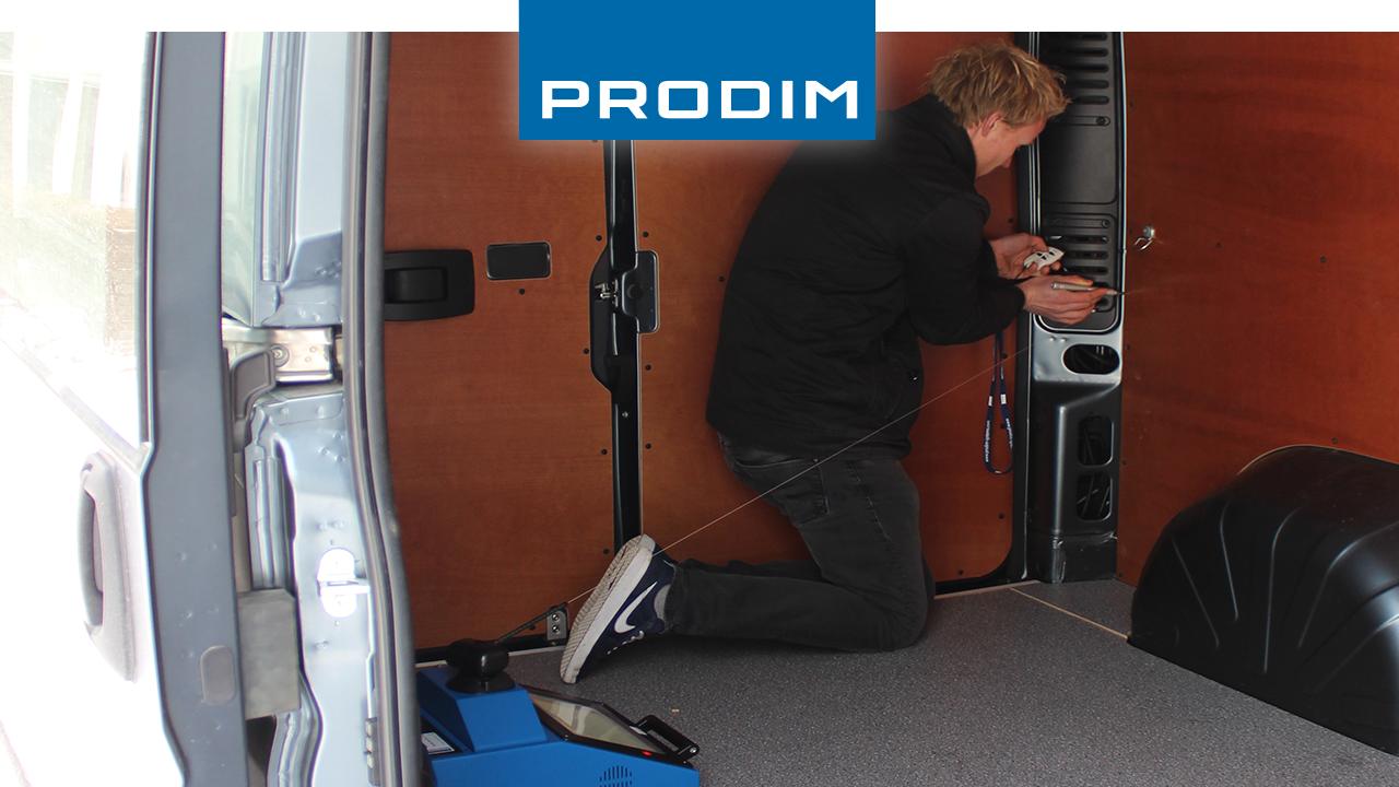 Prodim Proliner user Kemperink Bedrijfswageninrichting