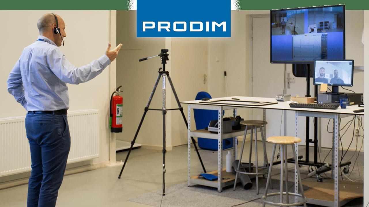 Prodim Proliner user Lahaye et Fils