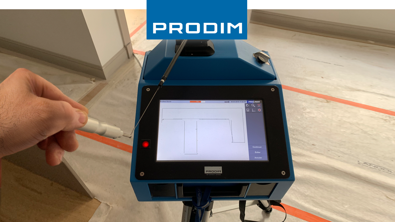 Prodim Proliner user Legape Granit