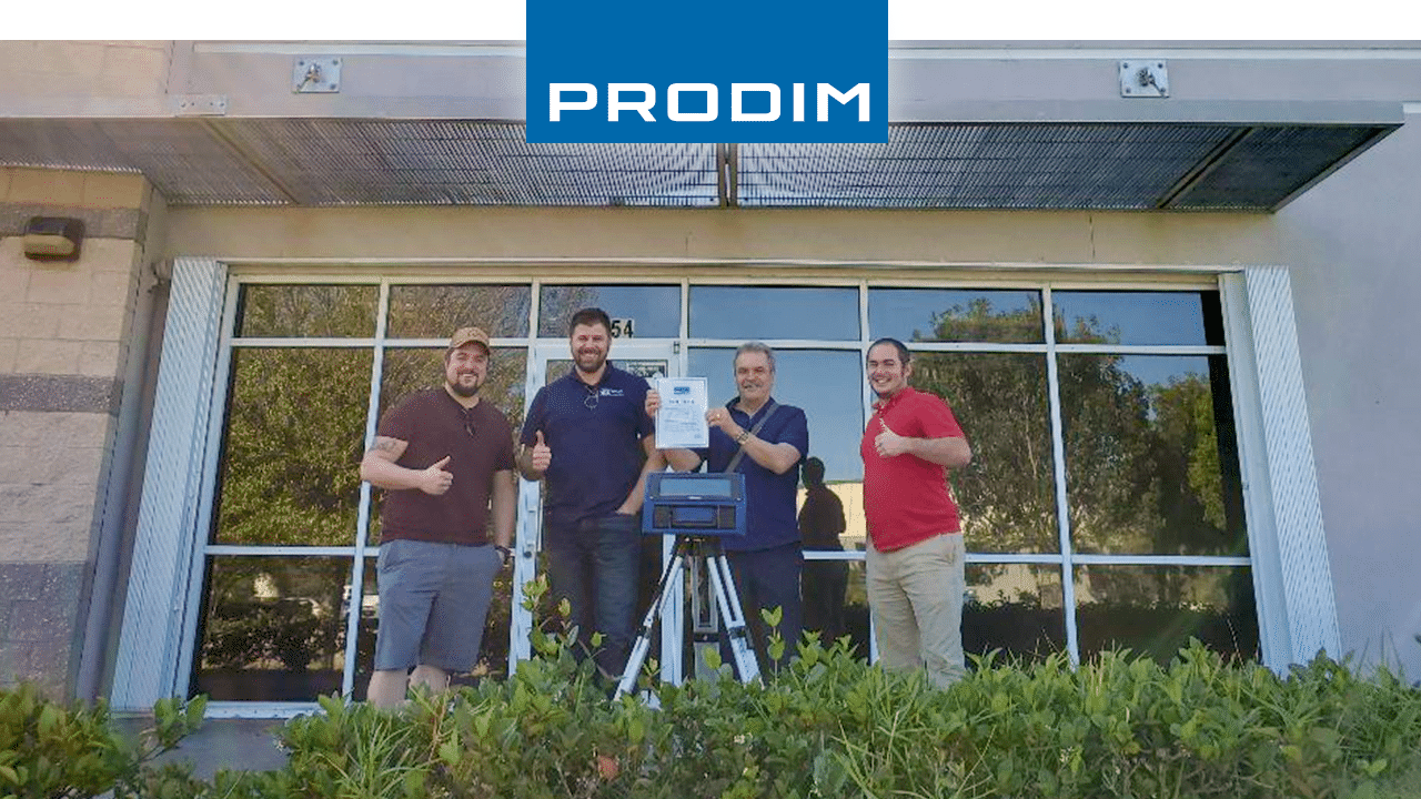 Prodim Proliner user Mirror works