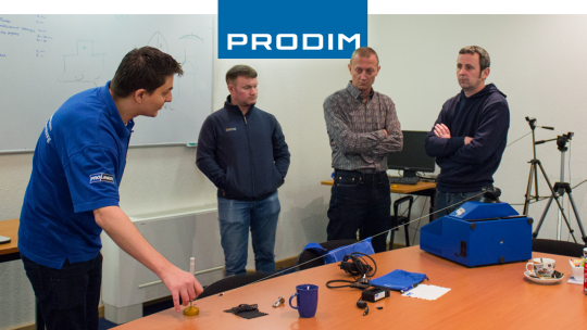 Prodim Proliner user Northside Glass