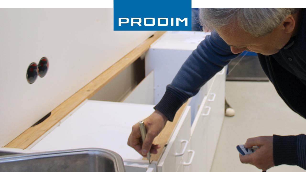 Prodim Proliner user Naturstein Peters