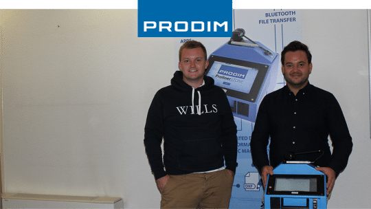 Prodim Proliner user R.C.Coppin