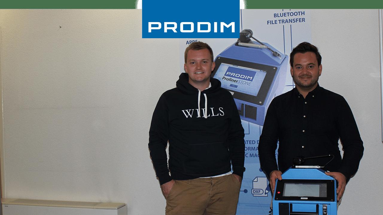 Prodim Proliner user R.C.Coppin