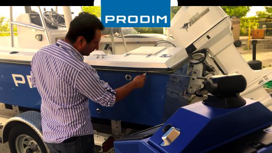 Prodim Proliner user Royal Marine Upholstery