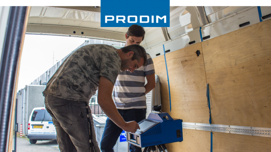 Prodim Proliner user Sanderse Systems