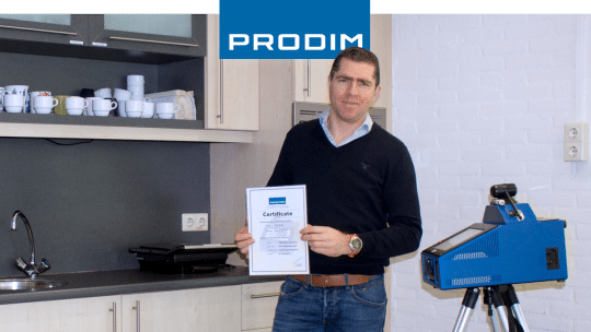 Prodim Proliner user Scan Granitt