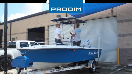 Prodim Proliner user Sea Canvas