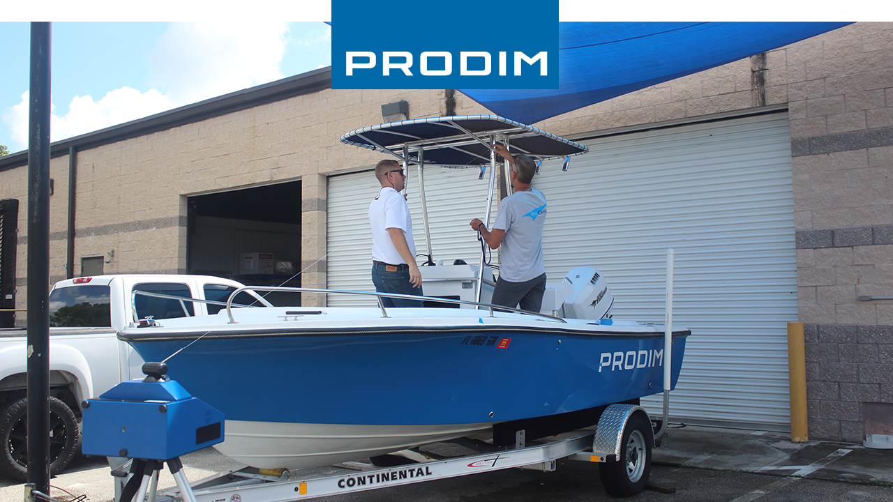 Prodim Proliner user Sea Canvas