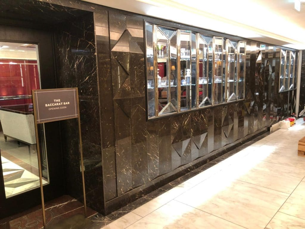 Prodim Proliner user Seabrook - Digital templating Harrods wall
