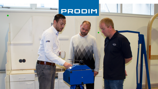 Prodim Proliner user Sunseeker International