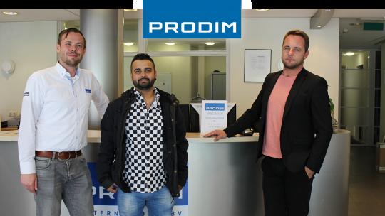 Prodim Proliner user Teak Solutions