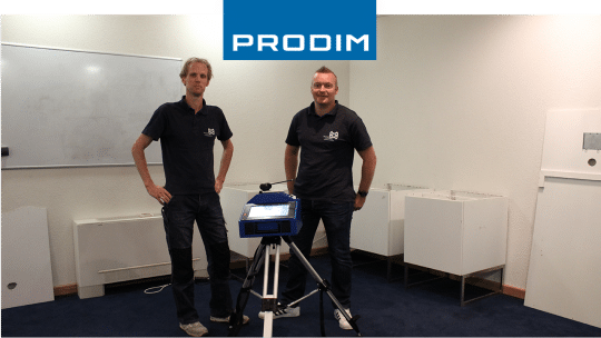 Prodim Proliner user Van der Meijden Luxury Interiors