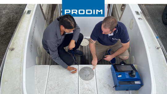 Prodim Proliner user World Surface
