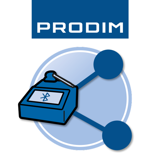 Icon - Prodim Smartphone App - Proliner File Transfer