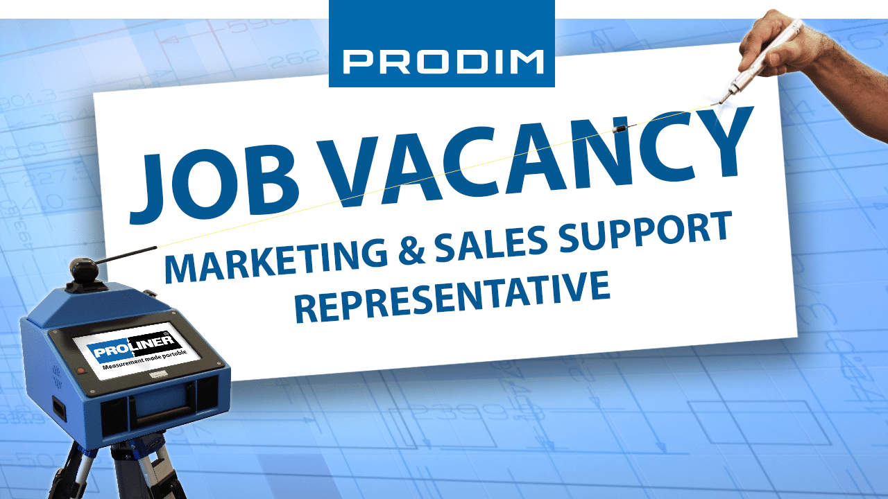 Prodim USA job vacancy - Marketing & Sales Support Representative