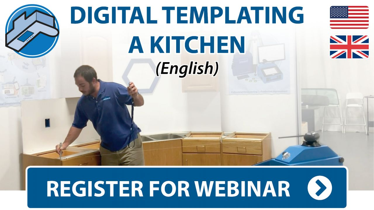 Prodim Webinar - Digital Templating Kitchen project - English