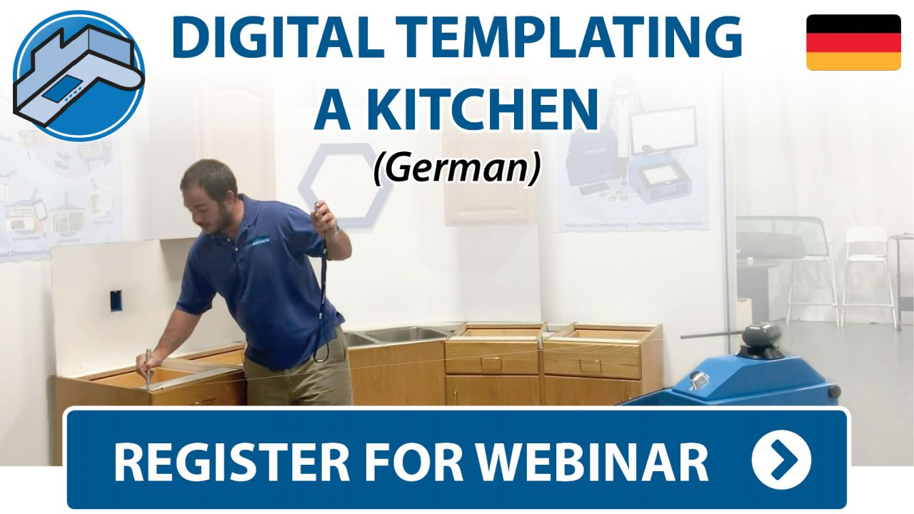 Prodim Webinar - Digital Templating Kitchen project - German