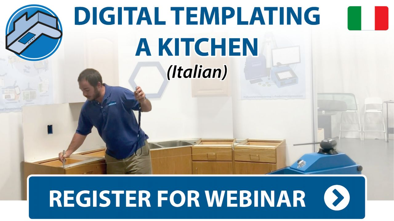 Prodim Webinar - Digital Templating Kitchen project - Italian