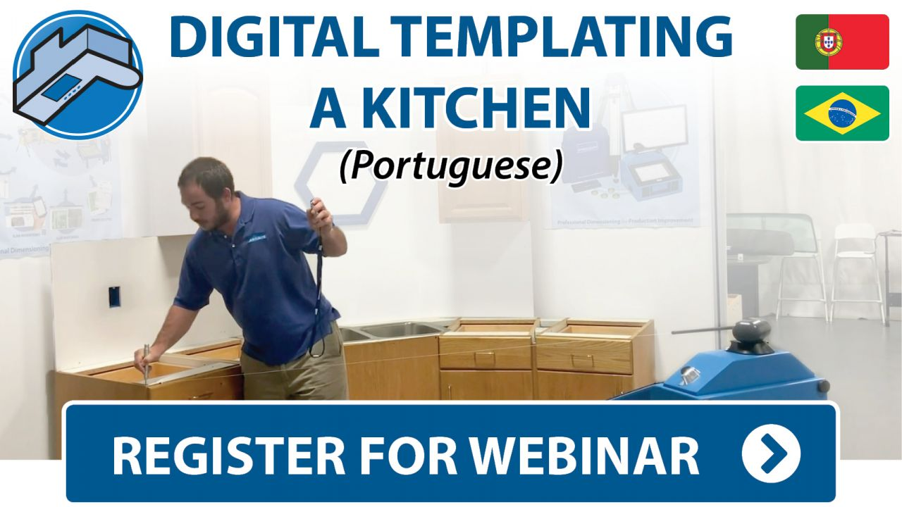 Prodim Webinar - Digital Templating Kitchen project - Portuguese