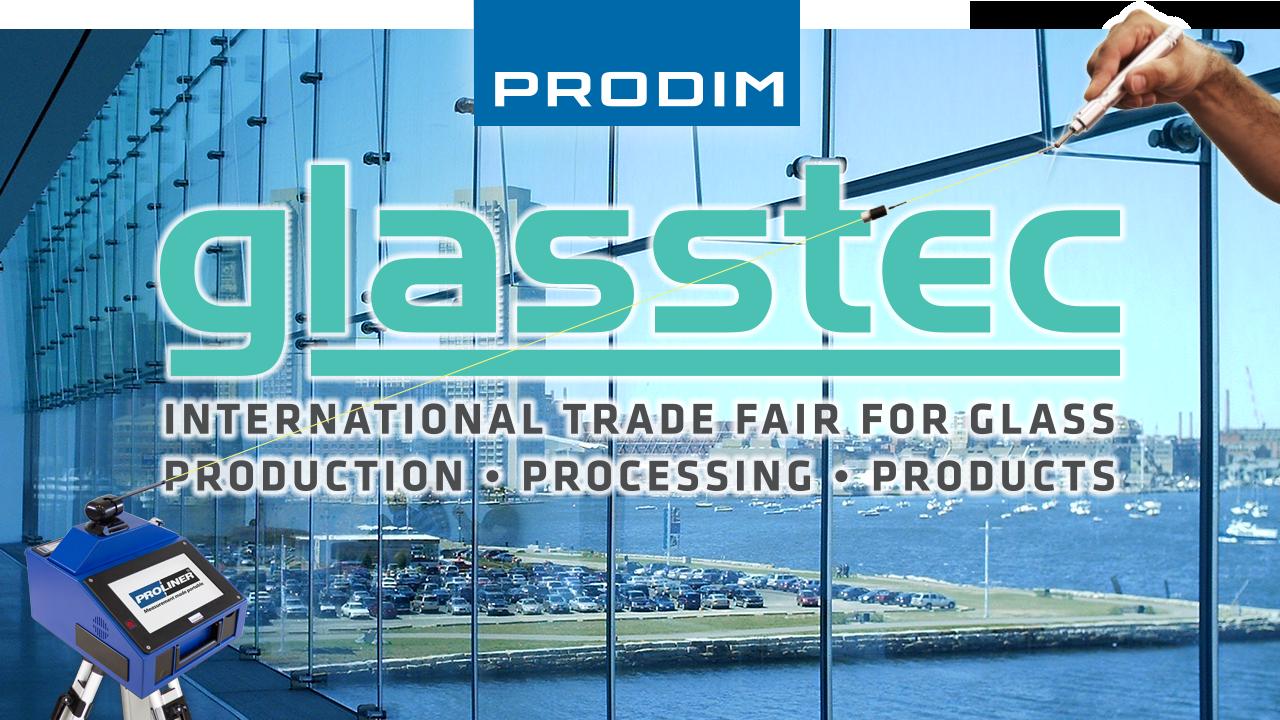 Visit Prodim at the Glasstec 2018 exhibition - Fair ground Dïusseldorf (DE) - Hall 14 - Stand B12