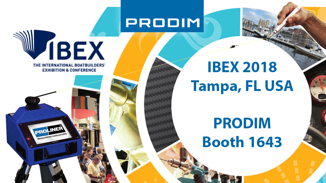 Visit Prodim at IBEX 2018 in Tampa, FL USA - Booth 1643