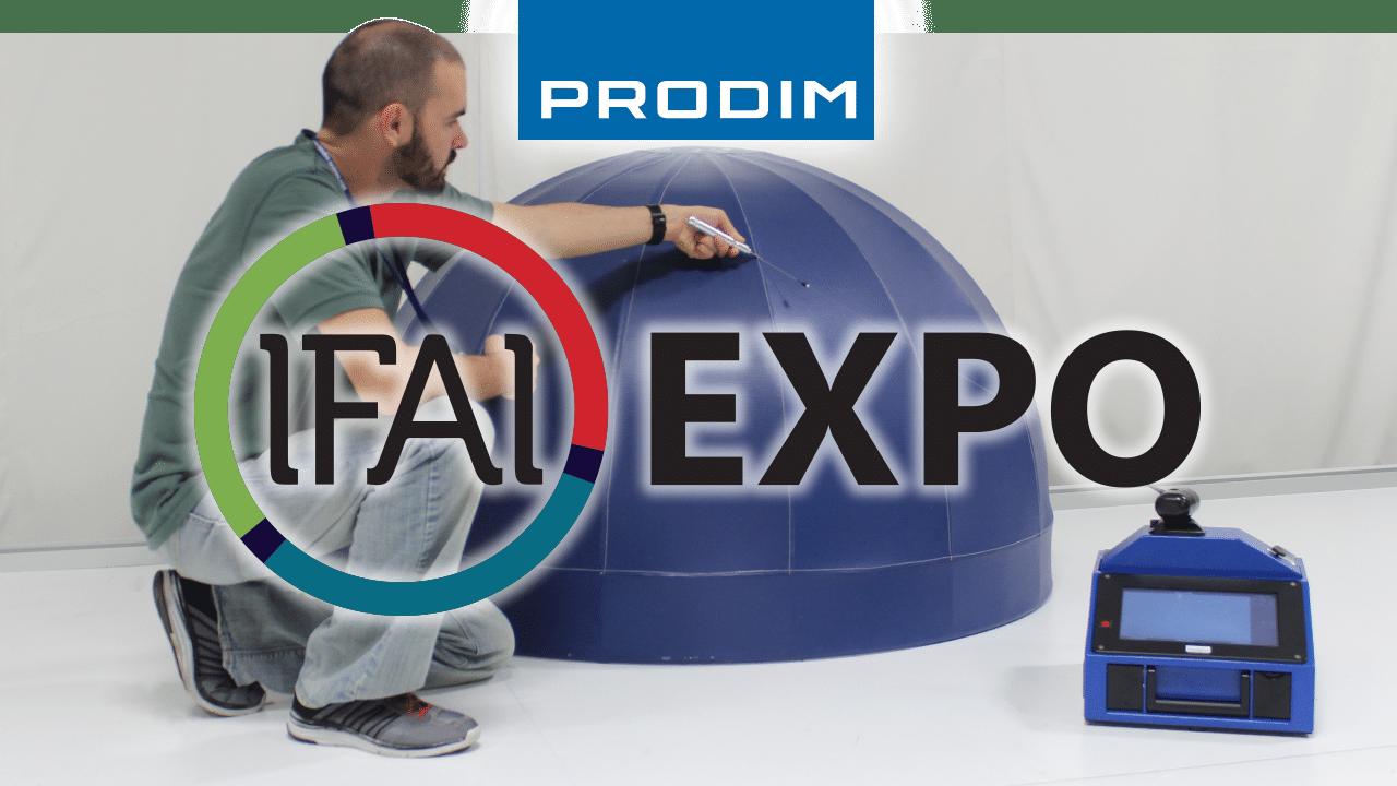 Prodim is exhibiting at IFAI Expo 2021