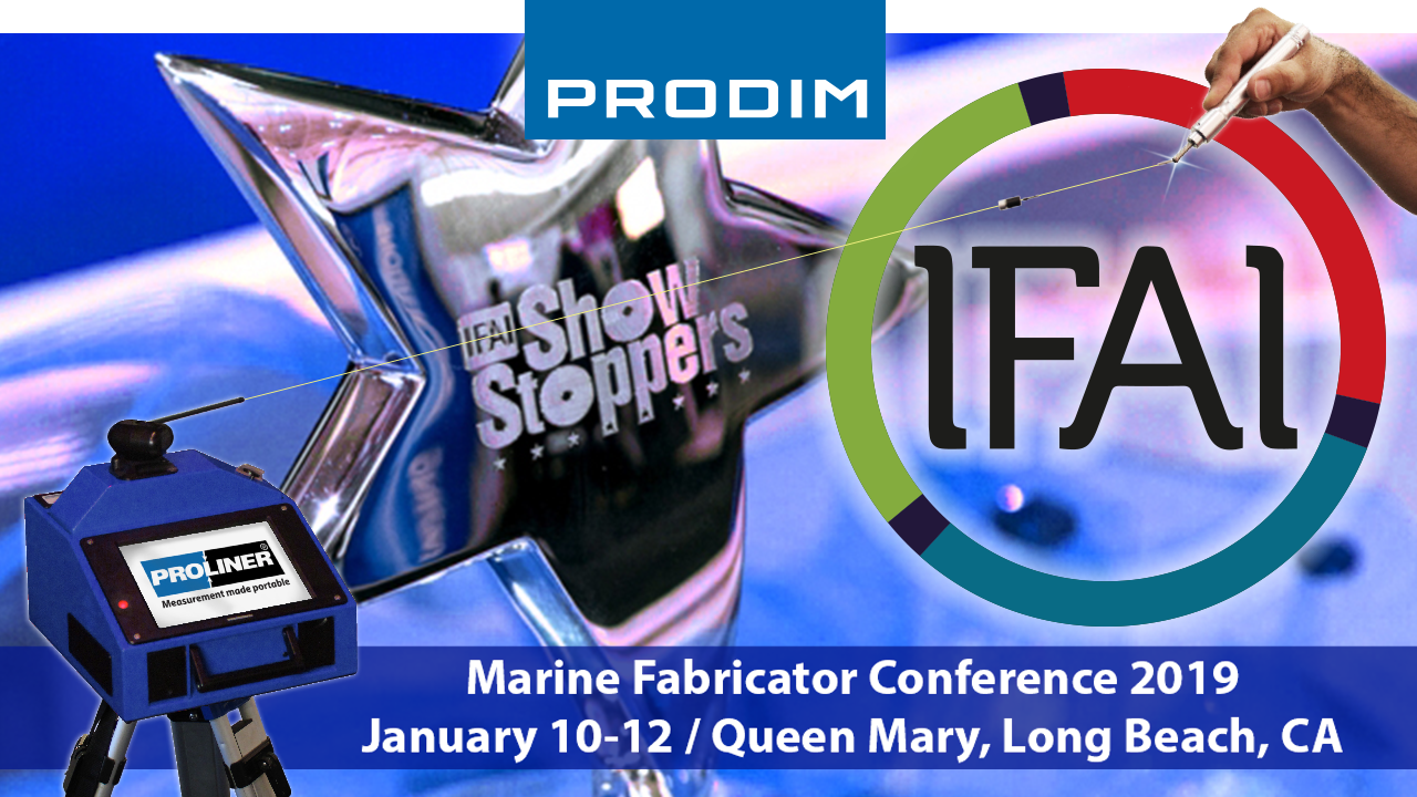 Prodim exhibiting at the IFAI Marine fabricator conference 2019