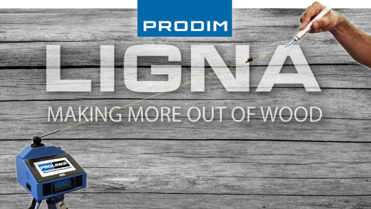 Prodim exhibiting at LIGNA 2019