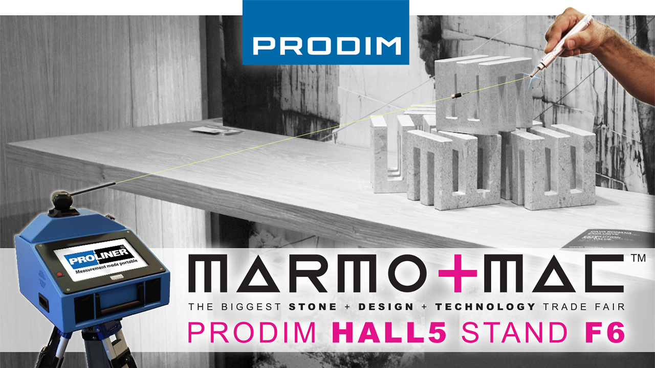 Visit Prodim at Marmomac 2018 in Verona (IT) - Hall 5 - Stand F6