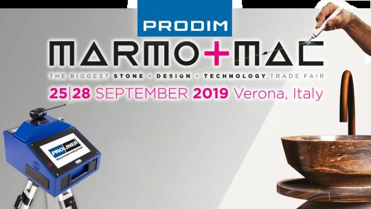 Visit Prodim at Marmomac 2019 - Hall 5 - Stand F6