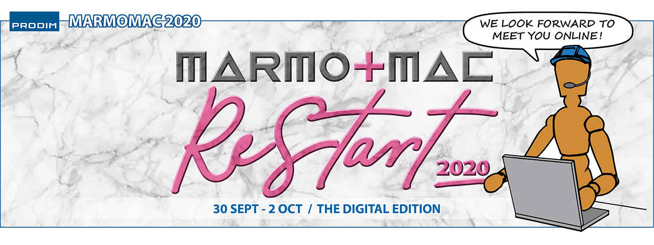 Slider - Prodim is exhibiting at Marmomac ReStart 2020 - The Digital edition