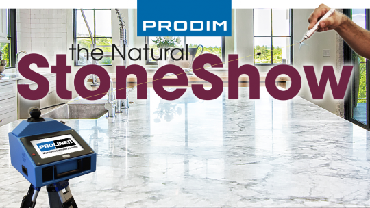 Prodim exhibiting at the Natural Stone Show 2019