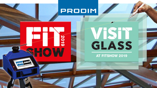 Prodim exhibiting at Visit Glass - FIT Show 2019