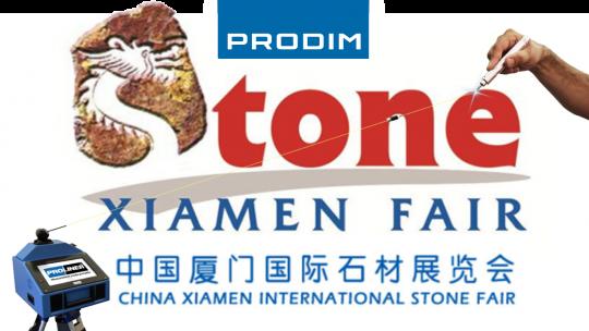 Prodim exhibiting at Xiamen International Stone Fair 2019