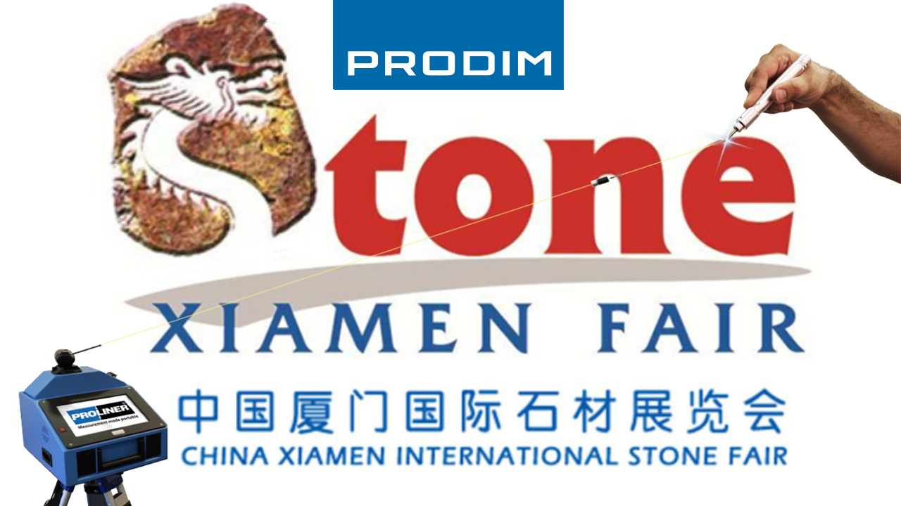Prodim exhibiting at Xiamen International Stone Fair 2019