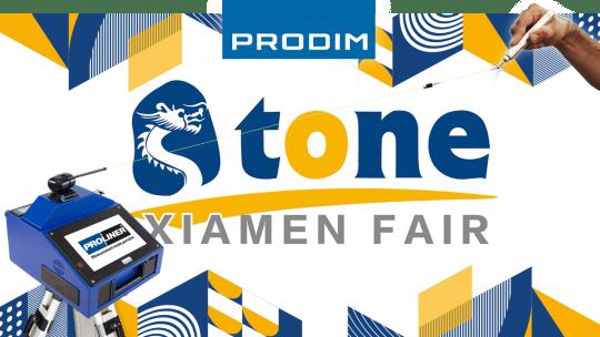 Prodim is exhibiting at the Xiamen International Stone Fair 2020 - Hall A4 - Booth 512